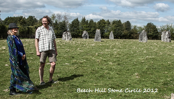 Creightmore & Rocka at Beech Hille Stone Circle 2012