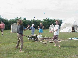 Juggling at Beech Hill