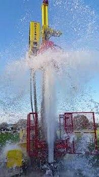 A water strike